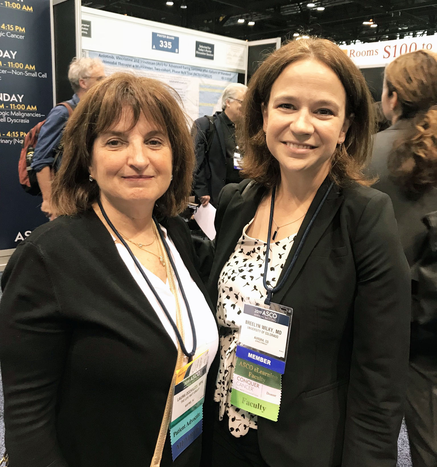 Laura Occhiuzzi and Breelyn Wilky