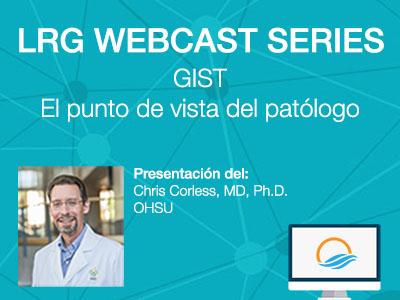 Presentación del Dr. Chris Corless