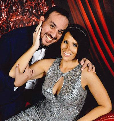 Nikki Morales and her husband