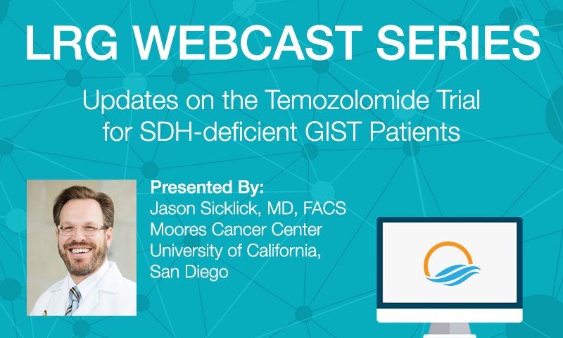 Dr. Sicklick presents an update on Temozolomide Trial