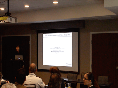 Dr Ping Chi, GIST Research Updates and Future Direction of Research